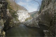 Au-dessus du Creux Billard (Guy Decreuse 25) Tags: canyon de château renaud vers crouzet migette creux billard lison nans sosu sainte anne cascade