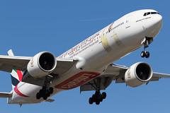Emirates   Boeing 777-300ER   A6-ECY   07.04.2018   Warsaw - Okecie (Maciej Deliś) Tags: emirates boeing 777300er b777 b77w a6ecy year zayed 2018 special livery warsaw chopin airport