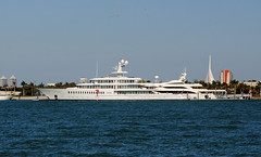 Super Mega Yacht Fountainehead (Infinity & Beyond Photography) Tags: super mega luxury motor yacht fountainehead miami boat