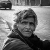 roadside (Fortunes2011. The Loss) Tags: street nikkor natural bnw bw portrait asia world lahore homeless beggar 5x5 squareformat