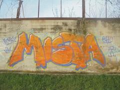 778 (en-ri) Tags: mista ohc crew arancione lilla omino 2014 torino wall muro graffiti writing