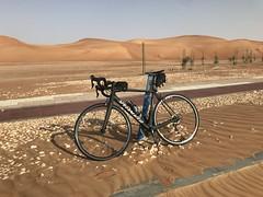 Al Ain Airport Ride - June 2018 (Patrissimo2017) Tags: sanddunes desert cycling