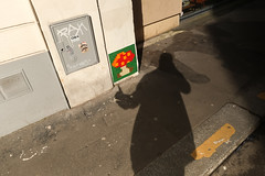 [15/52 2018] Re-Activated Mushroom (Meteorry) Tags: europe france idf îledefrance paris spaceinvader spaceinvaders invader invaderwashere mur wall street rue art artderue pixels pa701 ruegodefroycavaignac ruedecharonne reactivation reactivated shadow ombre 52weeks 52semaines me moi perrytak selfportrait autoportrait selfie man homme guy graffiti tags 52weeksalternative secondbest alt mushroom champignon april 2018 meteorry