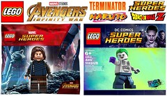 More Lego Polybags That Need to Be Made !!! (afro_man_news) Tags: lego polybag moc custom fake terminator naruto breaking bad dragon ball z justice league dc super heroes joker batman avengers marvel bruce wayne bucky barnes wonder woman bullseye goku lionel messi waltwr white infinity war minifigures minifigure