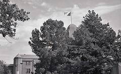 Joensuu - Finland (Sami Niemeläinen (instagram: santtujns)) Tags: joensuu suomi finland city kaupunki monochrome bw mustavalkea black white yashica ilford 35mm film kaupungintalo eliel saarinen cityhall