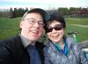 Mark & Isabelle at Gas Works (Sotosoroto) Tags: seattle washington gasworks gasworkspark wallingford