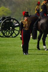 The Queen's 2018 Birthday gun salute - 51 (D.Ski) Tags: 2018 queens queen birthday gun salute royal park horse horses april westminster london nikon 2470mm 200500mm thekingstrooprha thekingstroop parade thequeen hydepark d700 nikond700