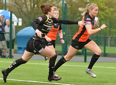 Clean Pair Of Heels (Feversham Media) Tags: yorkcityknightsladiesrlfc castlefordtigerswomenrlfc amateurrugbyleague northyorkshire yorkshire womenssuperleague yorkstjohnuniversity sportsaction york rugbyleague tarastanley