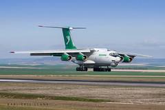 EZ-F427 - Turkmenistan IL-76   XCR (Karl-Eric Lenne) Tags:
