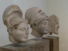 "Aeginetan Warriors - I (Egisto Sani) Tags: ""aphaia temple"" ""tempio di afaia"" ""late archaic period"" ""periodo tardo arcaico"" ""greek art"" ""arte greca"" marble marmo sculpture scultura egina aegina atene athens ""national archaeological museum"" ""museo archeologico nazionale"" ""no 1934"" 1933"" 1938"" 1934 1933 1938 ""nr"