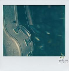 axes (audramayphotography) Tags: spectra polaroidweek polaroid instruments guitars