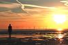 IMG_7983 (SnapperSte) Tags: ironmen windfarm crosbybeach crosby beach beachsunsets sunsets windturbines antonygormley anotherplace rivermersey merseyside liverpool