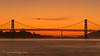 Two Bridges (Laura Macky) Tags: goldengate baybridge bridge sanfrancisco sunset landscape