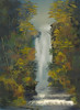 Mystic Mountain Waterfall_4.jpg (Sh4un65_Artistry) Tags: painteffect painterly landscape waterfalls hillsmountainsandmoorland textured digitalpainting artwork forest water corel digitalart