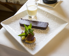 Chocolate Fondant (Bill in DC) Tags: nm newmexico santafe restaurants food 2017 lolivier desserts