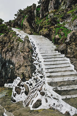 painted staircase on Terceira Island, Azores (Gail at Large | Image Legacy) Tags: 2017 azores açores ilhaterceira portugal terceira gailatlargecom