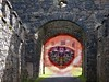 Arch (Tobymeg) Tags: eye arch stonework altered images see skull rock strange ireland panasonic corel brushes