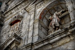 Santa Liberata (Franco D´Albao) Tags: francodalbao dalbao nikond60 iglesia church santaliberata bayona galicia architecture piedra stone hdr