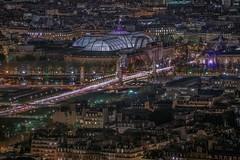 Grand Palais des Beaux-Arts (karinavera) Tags: city longexposure night photography cityscape urban ilcea7m2 grandpalaisdesbeauxarts palace france aerial paris view