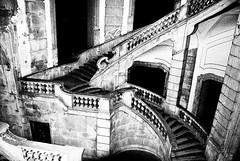 Omaggio a Maurits Cornelis Escher (gianclaudio.curia) Tags: bianconero blackwhite certosa padula nikon d3000 nikkor18140 black white