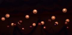 Lux mundi (Karen Scarlett Delgado) Tags: dark macro circles light red scarlet candle balloon cdmx nikon d3400 church easter pascua