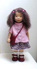 "For Dina, 17"" (SvetlanaKonyaeva) Tags: dolls doll toy toys stoffpuppe steiner stoffpuppen handmade fabric waldorf puppe puppekind puppen baby child"