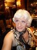 Dress Like A Woman; Act Like A Woman; Think Like A woman (Laurette Victoria) Tags: woman laurette blonde scarf animalprint bar milwaukee pfisterhotel hotel