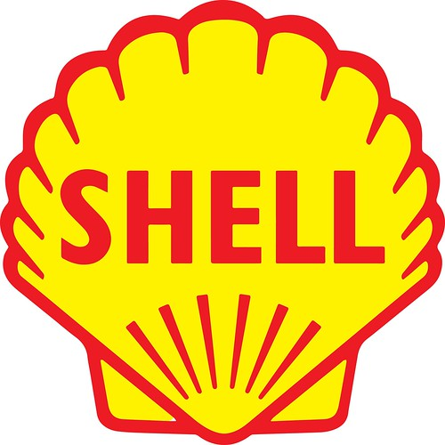 shell oil logo - old