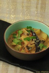 South Indian potato curry (164) (Lien (notitie van Lien)) Tags: indian indiaas spices specerijen vegetarisch vegetarian vegetables groente kruiden herbs curry