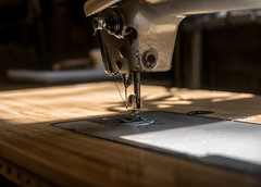 """""""Handcrafted"""" (36D VIEW) Tags: 81h helios81h helios a7rii a7rm2 mirrorless sewing machine handcrafted vintage legacy bokeh"""