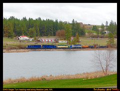 ewg-meadow lake-wa-4-13-2018a (funnelfan) Tags: train railroad railway shortline locomotive pnw pacificnorthwest eastern washington gateway ewg cw centralwashington sd45 gp35 steel coil