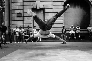 Street Photography dancer