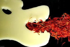 #Condiment to fire up (fotowayahead) Tags: condiment macromonday saffron cheese