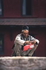 Nepal (Enricodot) Tags: reading read portraits portrait people enricodot nepalese nepal