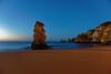 Algarve sunrise CH3A1205 (Ludo_M) Tags: lagos portugal sunrise dawn aube bluehour longexposure wideangle dslr fullframe ff europe europa trip travel journey beach coast algarve sand blue