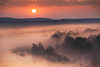 When the day wakes up 2 (xkolba) Tags: morning trees sunrise spring outdoor landscape podlasie canoneos5dmkii bug river riverbank water wood forest sky sun flowingwater poland haze fog tree mist cloud