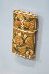 Native American embroidered cigarette case (quinet) Tags: 2017 canada ontario rom royalontariomuseum toronto 124