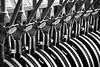 Cambio de agujas (Angaros) Tags: bn blanco y negro agujas ferrocarril estación madrid train railway black white
