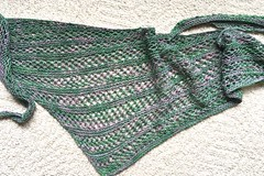Pacific Lace Shawl (Copperfield Cat) Tags: