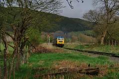 Carrog 220418 - DSC_0340 (Leslie Platt) Tags: exposureadjusted straightened cropped denbighshire llangollenrailway carrog d1566