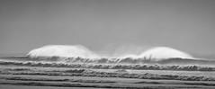 20180529_0766_7D2-200 Ocean Spray (johnstewartnz) Tags: sea spray wave waves beach northnewbrighton northbeach monochrome blackandwhite bw canon canonapsc apsc eos 7d2 7dmarkii 7d canon7dmarkii canoneos7dmkii canoneos7dmarkii 70200mm 70200 70200f28 100canon 7dwf