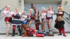 Harleys with bats II (greyloch) Tags: harleyquinn cosplay costumes dragoncon unedited 2017 canonrebelt6s rule63 dccomics comicbookcharacter