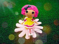 (Linayum) Tags: lalaloopsymini lalaloopsy doll dolls muñeca muñecas toys toy juguetes juguete cute ganchillo crochet handmade margarita daisy linayum