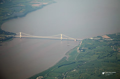 Severn Bridge (Kev Slade Too) Tags: severnbridge riversevern airtoground