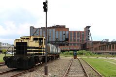 be-MINE, Beringen (Rick & Bart) Tags: beringenmijn limburg mine bemine history architecture rickvink rickbart canon eos70d beringen railroad minetrain track decay