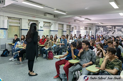 "Aisha Syed en Instituto Orriols de Valencia. Mayo 2018 • <a style=""font-size:0.8em;"" href=""http://www.flickr.com/photos/136092263@N07/42274056361/"" target=""_blank"">View on Flickr</a>"