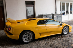 Lamborghini Diablo (Nico K. Photography) Tags: lamborghini diablo yellow classic supercars nicokphotography switzerland schindellegi