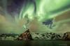 Magical Lofoten (sindreturoy) Tags: aurora nordlys canon eos 700d t5i hdr norway lofoten reine