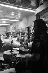 The jazz drummer (autoworks31) Tags: jazzfest ottawa hintonburg drummer