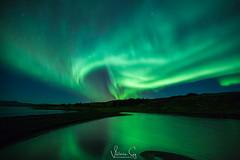 Storm (Valeria Sig) Tags: winter iceland auroraborealis